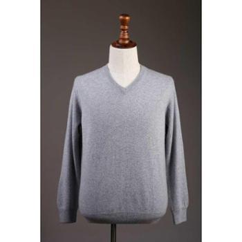 时尚特卖男士纯色套衫羊绒衫戴瑞斯924868