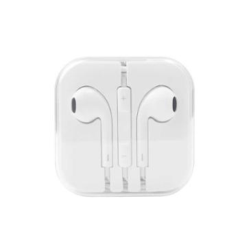 白色耳机耳塞入耳式线控带麦重低音耳塞式mp3电脑手机苹果安卓通用耳机