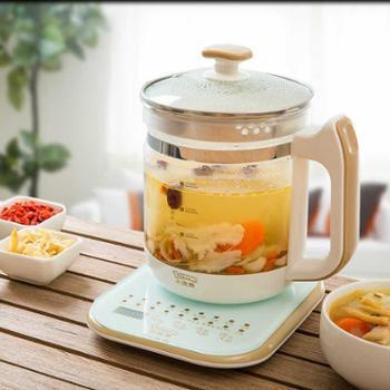 小浣熊养生壶全自动加厚玻璃电煮茶壶多功能烧水花茶壶烧茶煮茶器