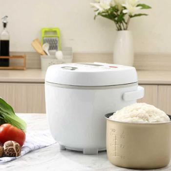小浣熊电饭煲2L智能*1-3人家用宿舍可预约定时小型蒸煮米饭锅厨房用具