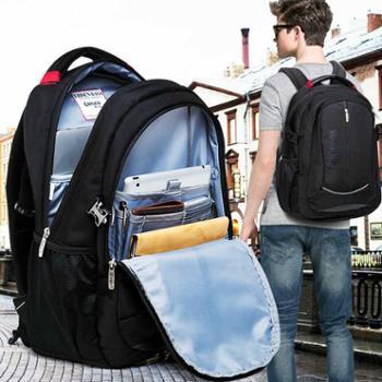 爱尼森双肩旅行电脑背包男包商务休闲书包双肩包