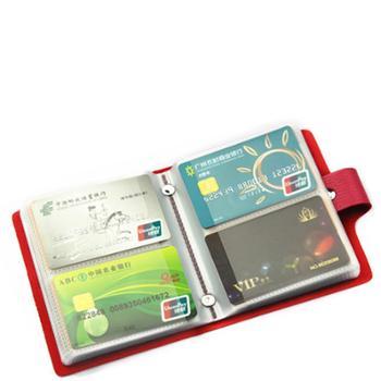 新款卡包包邮特价60卡位男女式多卡位韩国名片包册防磁卡套大容量