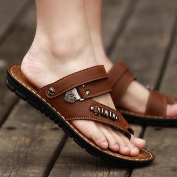夏季防滑凉鞋男夹趾男士凉鞋休闲沙滩鞋韩版凉拖鞋男夏人字拖鞋子