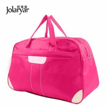 牛津布新款防水手提旅行包大容量行李包女男短途旅行袋旅游包健身1