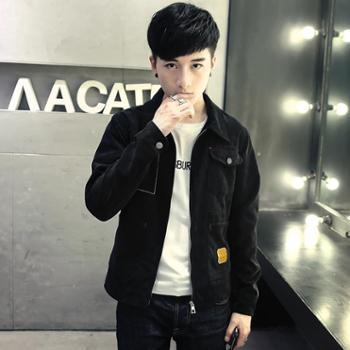 男士春季港风外套冬季青年学生韩版休闲夹克青少年上衣服男装潮流JC