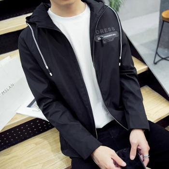 男士外套春秋季韩版潮流修身帅气休闲卫衣夹克上衣服棒球褂子 MTR2107