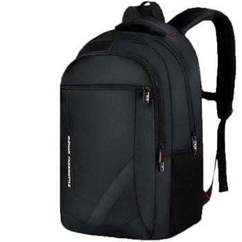 背包男士双肩包时尚潮流高中初中学生书包女大学生商务旅行电脑包