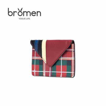 不莱玫女式薄短款小卡包韩国可爱多功能个性迷你小巧证件包零钱包