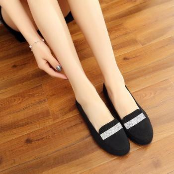 荣祖布鞋超软女鞋开车孕妇休闲鞋