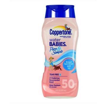 美国 Coppertone水宝宝 无油无泪无香防晒霜SPF50 237ml 防晒乳