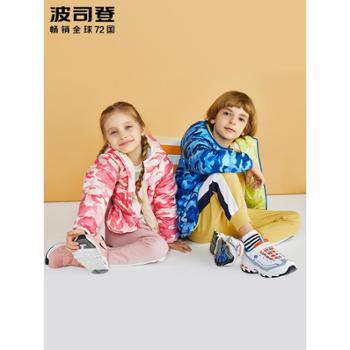 波司登童装新款儿童保暖外套轻薄款连帽男女宝宝羽绒服T80131518