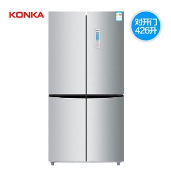 Konka/康佳BCD-426WEGY4S四门对开双门十字冰箱多门家用风冷无霜
