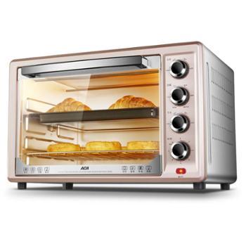 ACA/北美电器电烤箱家用烘焙多功能全自动迷你烤箱