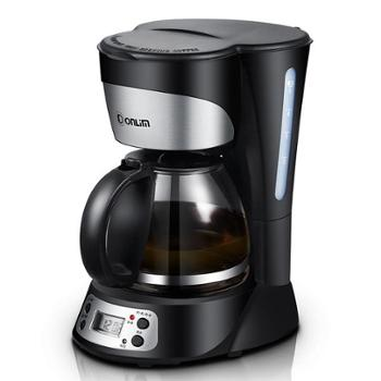 Donlim/东菱咖啡机家用全自动美式滴漏式茶壶预约定时煮咖啡机