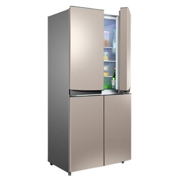 康佳BCD-355升十字对开门家用四门节能电冰箱