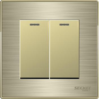 中科电工:二位大跷板单极开关--KGY201--V3