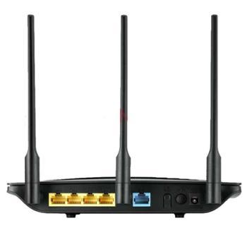 华为 HUAWEI WS550 450M 无线路由器(黑色)