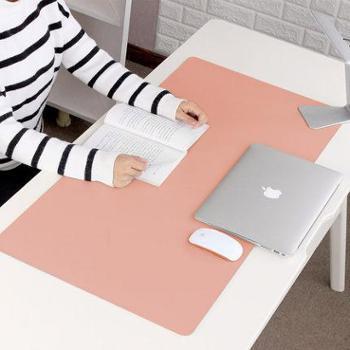 笔记本电脑垫桌垫防水超大号鼠标垫写字台垫键盘垫办公桌垫可定制 可爱女生书桌垫 学生写字垫 学习桌面垫子 双面款900*450mm