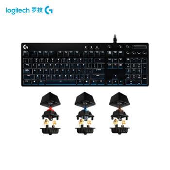 罗技G610电竞游戏吃鸡机械键盘cherry樱桃茶轴红轴青轴背光绝地求生神器 台式电脑笔记本通用104键