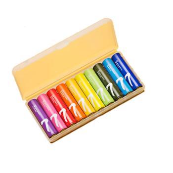 彩虹7号电池10粒装碱性干电池家用