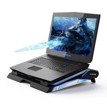 笔记本散热器电脑风扇外星人17.3寸水冷架子