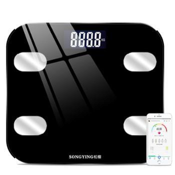 松樱 家用智能蓝牙脂肪秤秤重体重秤健康秤电子秤电子称 SY03B