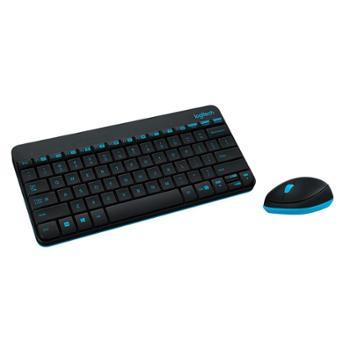 罗技MK240MK245Nano无线键盘鼠标套件迷你笔记本键鼠套装