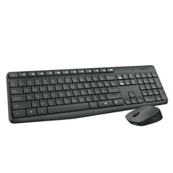 罗技(Logitech)MK235系列有线/无线键盘鼠标套装