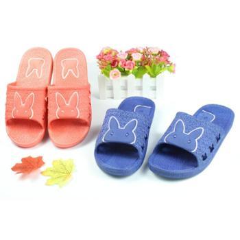 吉星鸟 夏季情侣浴室拖鞋防滑室内家居拖鞋