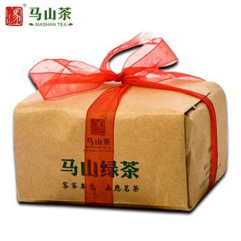 马山茶雨前春茶二级茶叶办公自饮口粮绿茶散装茶叶250g