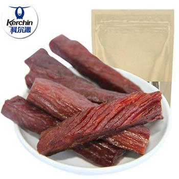 内蒙古科尔沁手撕牛肉100g 手撕酱卤风味牛肉干休闲零食特产原味