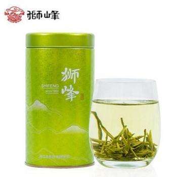 【浙江龙支付】2018新茶狮峰明前特级西湖龙井50g罐装春茶