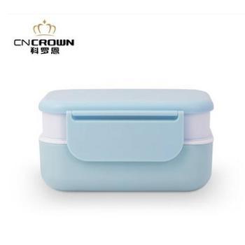 科罗恩 正品微波炉专用保温饭 盒便当盒 创意密封分格饭盒 时尚餐盒