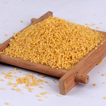 石磨源农家黄小米2500g袋装石碾碾制,无添加
