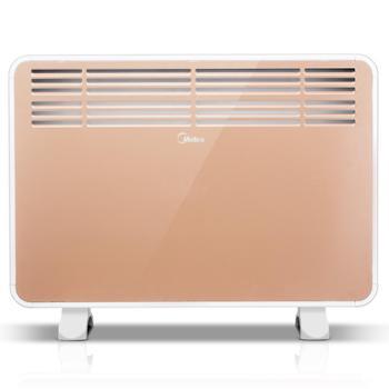 美的取暖器NDK20-16H1W居浴两用家用速热暖风机立式办公室电暖器