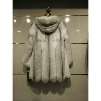冬季新款皮草整貂水貂皮草外套