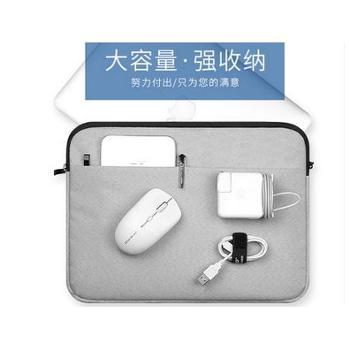 锐播苹果笔记本内胆包笔记本电脑包Macbookair13寸内胆包11女12/13.3pro15保护套