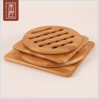 一木一匠加厚竹制隔热垫餐桌防烫防滑垫