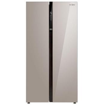 美的BCD-528WKPZM(E)无霜双开门家用变频静音智能对开门电冰箱