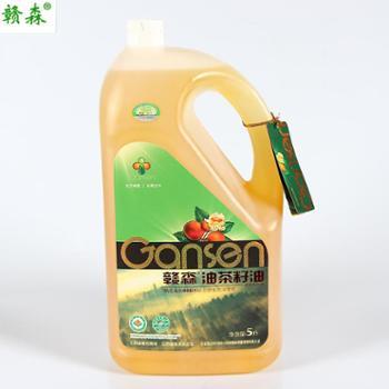 赣森有机油茶籽油 5L装