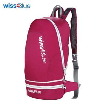 维士蓝折叠皮肤包TG-WB1026可折叠成腰包的背包
