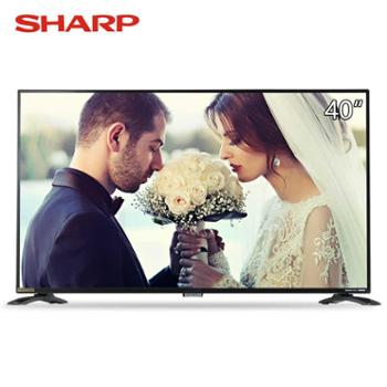 Sharp/夏普LCD-40SF466A-BK40英寸高清平板液晶智能网络电视机