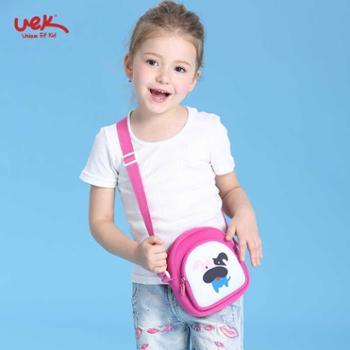 uek公主斜挎包生日礼物小女孩可爱迷你时尚女童单肩包潮儿童包包