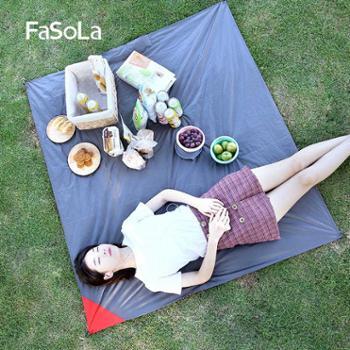 FaSoLa户外野餐垫轻薄便携防水沙滩草坪防潮垫