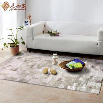 尼西米 土耳其进口地毯 高档客厅地毯 地毯茶几 蓝宝石系列茶几垫1.6*2.3m
