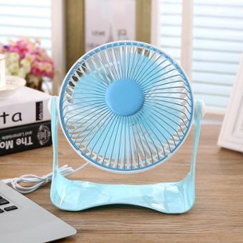 夏季迷你静音办公室U形桥形塑料风扇USB电源桌面便携家用小风扇