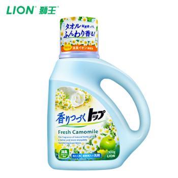 Lion/狮王TOP持久香氛柔顺洗衣液900g(香型随机)