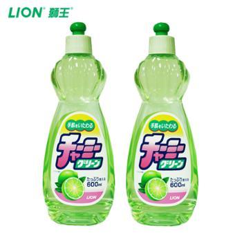 日本原装进口妈妈柠檬CHARMYGREEN蔬果洗洁精2瓶装