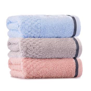 洁丽雅洗脸毛巾3条装