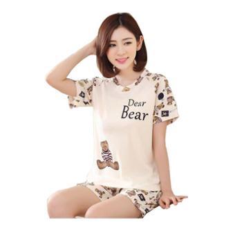 澳思鸟薇米安系列薄款夏季棉质睡衣